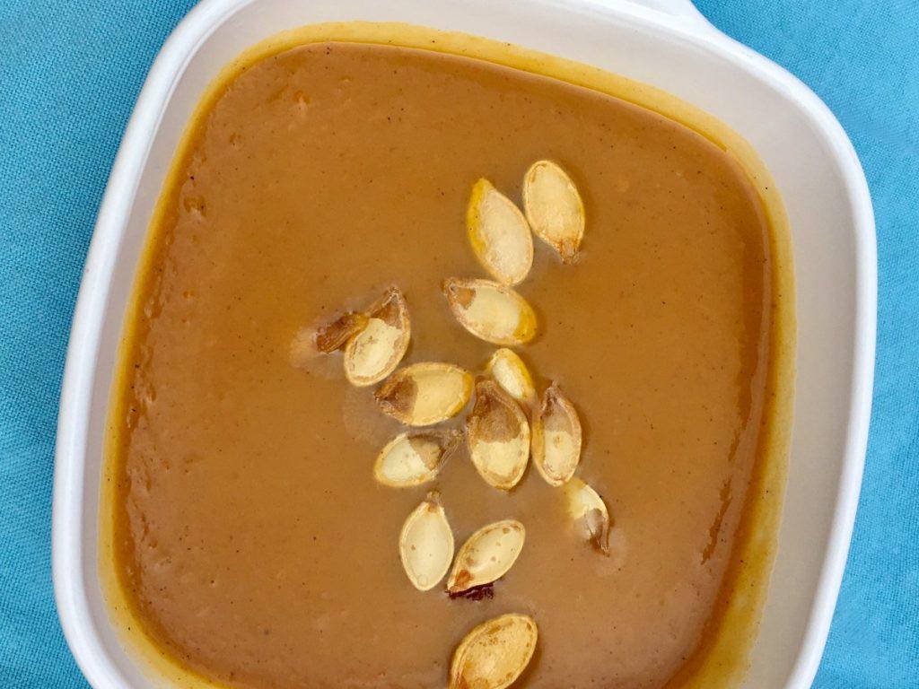 Butternut Squash Carrot Crockpot Soup