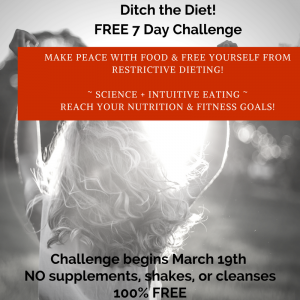 Ditch the Diet – Free 7 day callenge