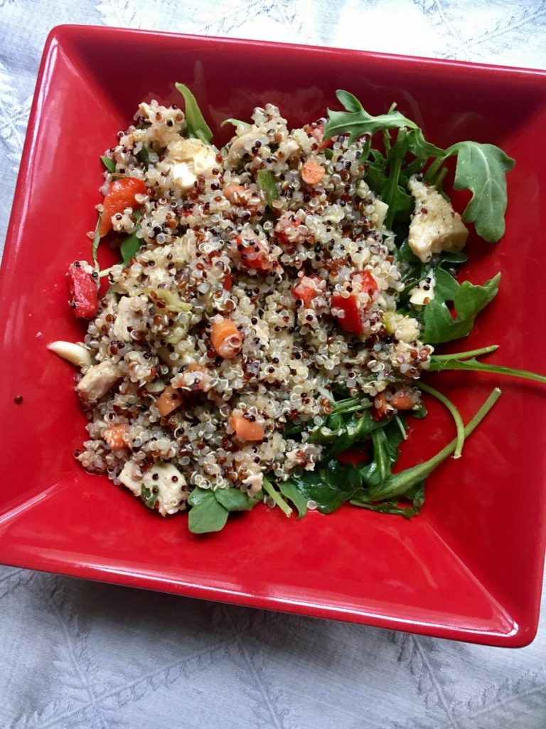 Lemon Chicken Quinoa Salad